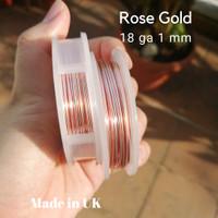 Kawat Euro Wire Rose Gold VARIAN UKURAN
