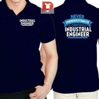 Kaos Kerah - Baju Polo shirt INDUSTRIAL ENGINEER -1