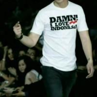KAOS BAJU BIG SIZE DISTRO DAMN I LOVE INDONESIA S M L XL XXL 3XL 4XL