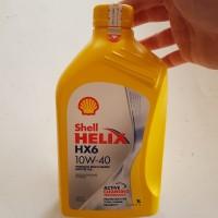 Oli Mesin Shell Helix HX6 / HX 6 SAE 10W 40 Botol 1 Lt Original