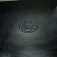 MBtech camaro kulit jok motor polos logo
