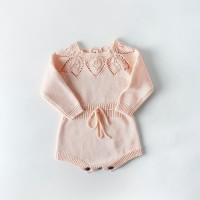 Knitted baby romper baby girl jumper bayi rajut baju bayi rajut hollow