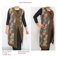 Bolero Batik Wanita, Long vest batik outer batik Wanita