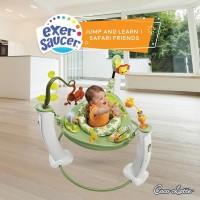 Exersaucer Cocolatte safari friends - Baby Walker Jumper Evenflo Gojek