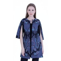 Cardigan Vest Blazer Atasan Wanita Rianty Batik Aurelia