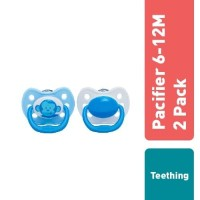 Dr.Brown's Pacifier - Stage 2, 6-12 M - Monkey Assorted Colors, 2 pack