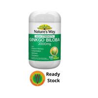 Natures Way Ginkgo Biloba 2000mg - 100 tablets