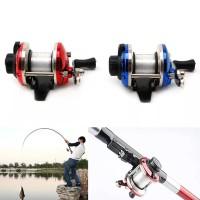 Fishing Fish Reel Alat Gulungan Pancing 0.2mm 50m Set Spinning Rell