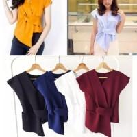Kimonosia Wanita / Blouse / Baju Atasan Perempuan Twiscone Soft