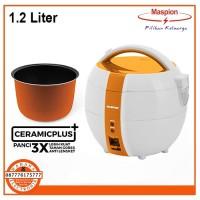 Maspion Rice Cooker Magic Com Mini 1 Liter 3 in 1 MRJ-1039 MRJ1039