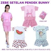 Zebe Setelan Pendek Bunny Edition