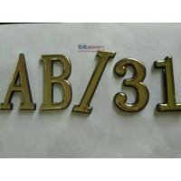 Nomor Rumah Huruf Tempel Angka Rumah