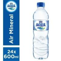 AQUA 600ML X 24 BTL ( GRAB/GOSENT ONLY )
