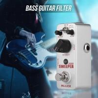 MOOER Pedal Efek Gitar Bass Elektrik dengan True Bypass Bahan Full