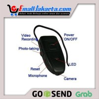 Headset 4Gb Bluetooth Spy Cam Kamera Pengintai Cam QWxz01C4067
