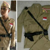 Kostum Costume Costum Baju Pejuang 45 Kemerdekaan Dewasa