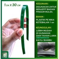Penjepit Mulsa Plastik Pengganti Kayu/Bambu