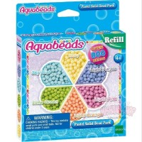 Aquabeads Pastel Solid Bead Pack-ORI Aqua Beads EPOCH