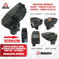 Armrest Box USB 7 Console All New Terios Rush Avanza Xenia Khusus 2018