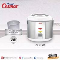 Cosmos CRJ-9301 Rice Cooker Magic Com Body Panci Stainless Steel. Baru