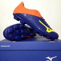 Sepatu Bola Mizuno Basara 103 MD Navy Orange P1GA176454