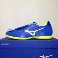 Sepatu Futsal Mizuno Rebula V3 IN Strong Blue P1GF188509