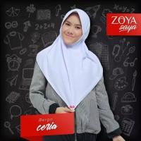 Kerudung Jilbab Bergo Sekolah Zoya Ceria MAXI
