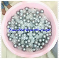 Paket BALLPIT + 600pcs Bunnie Boo Ball -Bola Mandi Plastik Mainan Anak