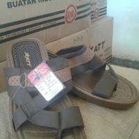 ATT JP 1000 Sandal pria model simpel dan nyaman - Coklat Muda, 41