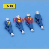LC Optical Attenuator LC/PC 5DB Singlemode FO Fiber Optik FB80