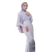 MILKY MAXY Velvet Mix Brukat Baju Gamis Wanita Terbaru Dan Muslim 2019