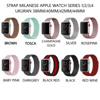 Strap I Watch STRAP MILANESE LOOP FOR APPLE WATCH 44mm series 1 2 3 4