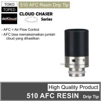 510 AFC Resin Two Tone Drip Tip   driptip hadaly berserker gear rta