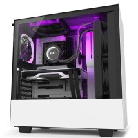NZXT H510i With Type-C Port Casing PC - Matte White