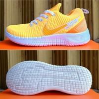 Sepatu Nike Zoom Yellow / Kuning New Fashion Sport Running Women Murah