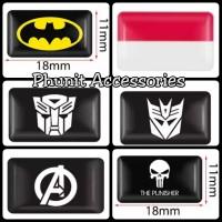 emblem sticker 3d mini multi fungsi hp laptop motor mobil