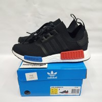 ADIDAS NMD R1 OG BLACK WHITE PK (PERFECT KICKS) REAL BOOST BASF