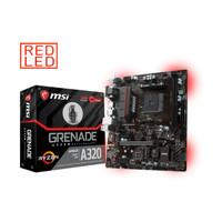 MSI A320M Grenade (AM4, AMD A320, DDR4, USB3.1, SATA3)