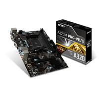 MSI A320M Pro VD/S (AM4, AMD A320, DDR4, USB3.1, SATA3)