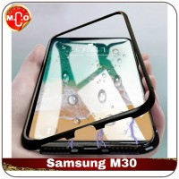 Samsung Galaxy M30 M 30 Magnetic Metal Frame Shell Case Casing CoverHP