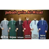 Gamis Jubah Pria Muslim Terbaru Baju Koko Syari Cowok Slimfit Elegan