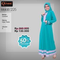 Qirani Dewasa Melati 225 | Baju Perempuan Wanita Muslim Gamis Dress.
