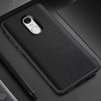 Xiaomi Redmi Note 4X Case Shockproof Anti Slip Slim Black Matte Casing