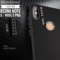 Xiaomi Redmi Note 5 Pro Case Shockproof Anti Slip Slim Black Matte