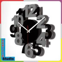 Produk Jam Dinding Akrilik 3D Your Style 13 Series