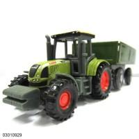 Diecast Toy Car Siku Tractor Mobil Pajangan Koleksi Miniatur 03010929