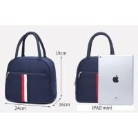 Tas Jinjing Tangan Wanita Import / Tote Bag Cewek Kanvas T036