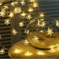 Lampu LED Salju Snow 10m Lampu Hias Natal Tumblr