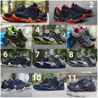 Sepatu Adidas AX2 Lokal Men Cowok Pria Sport Black Grey Blue Red Green