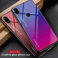 Gradient Glass Case Asus Zenfone Max Pro M1 ZB601KL ZB602KL Casing